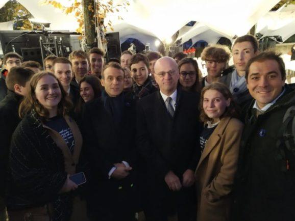 Des lycéens de Barral invités à Paris pour la cérémonie du 11 novembre 2019
