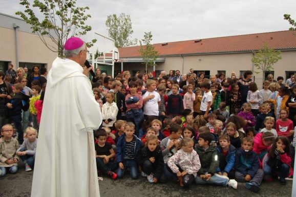 Inauguration de la chapelle de l'école Saint-Théodoric Balat de Gaillac